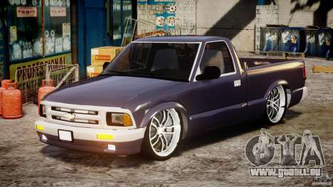 Chevrolet S10 1996 Draggin [Beta] für GTA 4