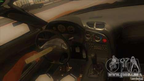Mazda RX7 Veilside pour GTA San Andreas vue de côté