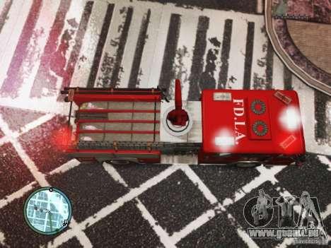 New LCFD Car pour GTA 4 Vue arrière
