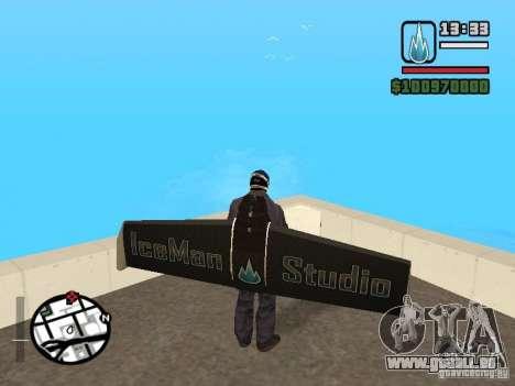 Jetwing Mod für GTA San Andreas her Screenshot