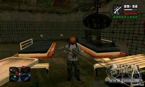Crabe de tête pour GTA San Andreas troisième écran