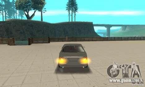 Feux d'angle universel pour GTA San Andreas troisième écran