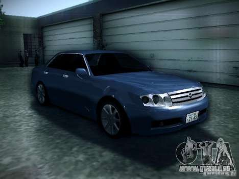Nissan Gloria für GTA San Andreas Rückansicht