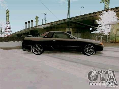 Nissan Skyline GTS-T für GTA San Andreas Rückansicht