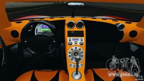 Koenigsegg CCX 2006 v1.0 [EPM][RIV] pour GTA 4 Vue arrière