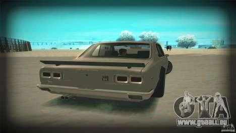 Nissan Skyline 2000GT-R JDM Style pour GTA San Andreas vue intérieure