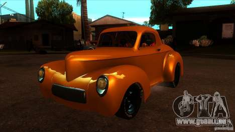 Americar Willys 1941 für GTA San Andreas