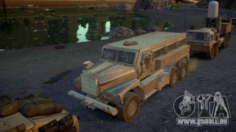HEMTT Phalanx Oshkosh für GTA 4