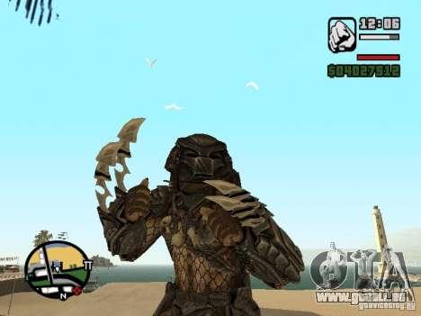 Predator Predator (Maske) für GTA San Andreas zweiten Screenshot
