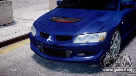 Mitsubishi Lancer Evolution VIII pour GTA 4 est un côté