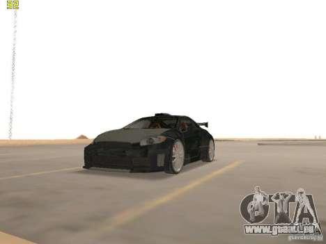 Mitsubishi Eclipse GT NFS-MW pour GTA San Andreas