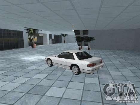 Nissan Silvia PS13 pour GTA San Andreas sur la vue arrière gauche