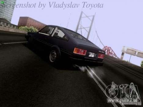 Toyota Corolla TE71 Coupe für GTA San Andreas rechten Ansicht