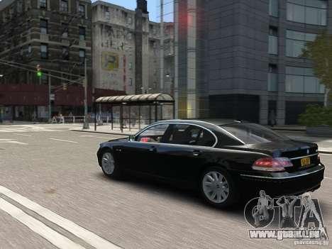 BMW 7 Series E66 2011 für GTA 4 Unteransicht