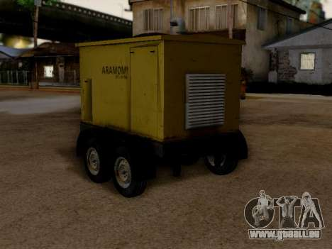 Trailer Generator für GTA San Andreas linke Ansicht