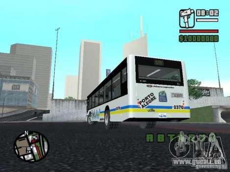 Onibus für GTA San Andreas Rückansicht
