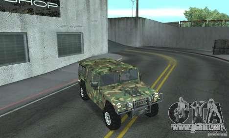 Hummer H1 für GTA San Andreas Motor