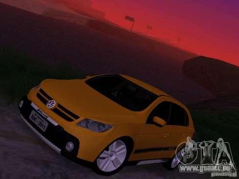 Volkswagen Gol Rallye 2012 für GTA San Andreas obere Ansicht