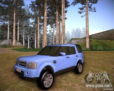Land Rover Discovery 4 für GTA San Andreas