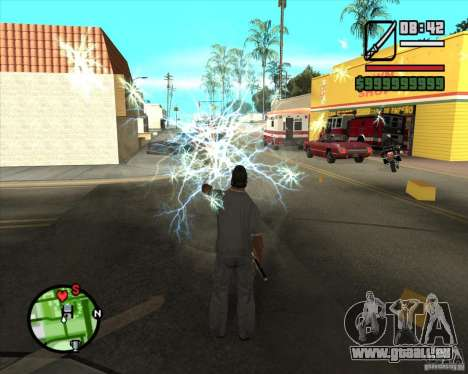 Chidory Mod für GTA San Andreas fünften Screenshot