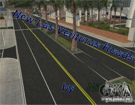 Construction de nouvelles routes à Las Venturas pour GTA San Andreas