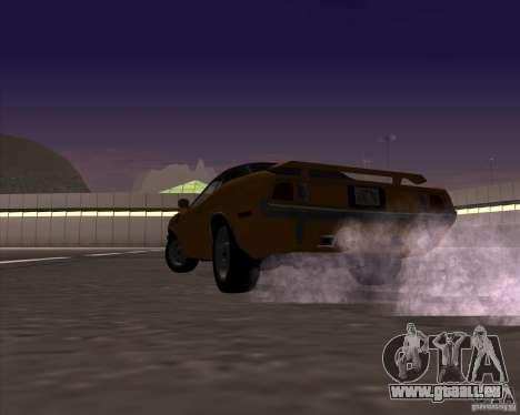 Plymouth Barracuda pour GTA San Andreas vue de côté