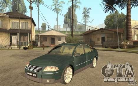 Volkswagen Passat B5 W8 4Motion für GTA San Andreas