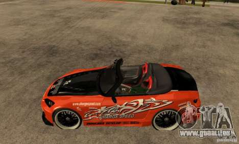 Honda S2000 CHARGESPEED für GTA San Andreas linke Ansicht