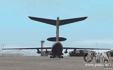 Berijew A-50 Mainstay pour GTA San Andreas vue de droite