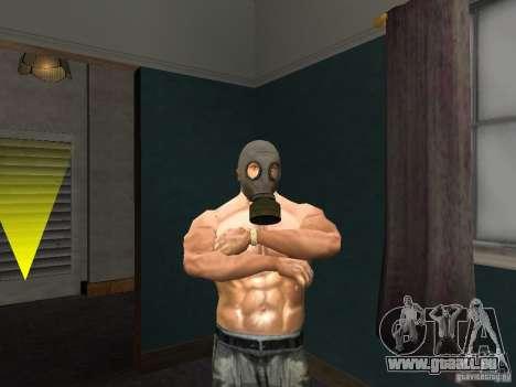 Masque à gaz pour GTA San Andreas