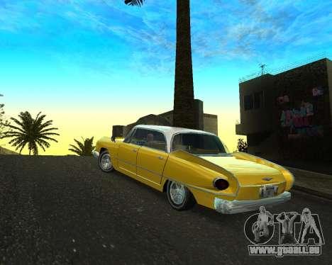 Dodge Polara pour GTA San Andreas laissé vue