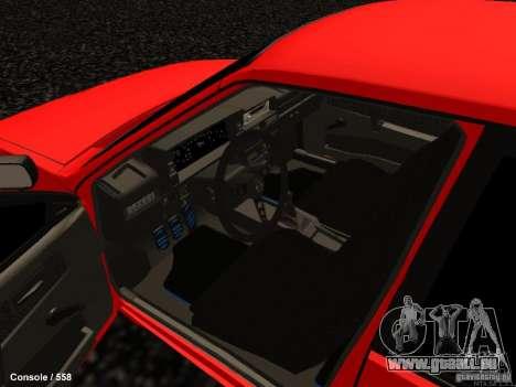 VAZ 2109 Opera Turbo für GTA San Andreas Innenansicht