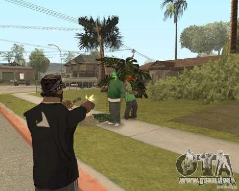 Mark and Execute pour GTA San Andreas quatrième écran