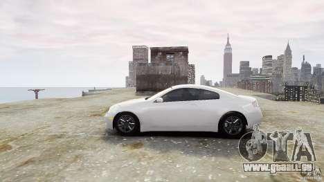 Infiniti G35 für GTA 4 linke Ansicht