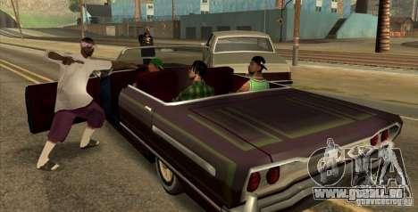 Wars Zones pour GTA San Andreas deuxième écran