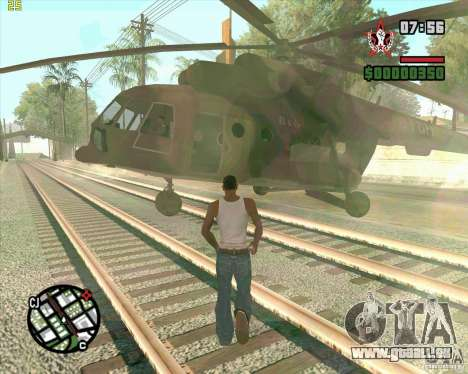Aufruf Cargobob für GTA San Andreas