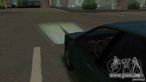 Halogen-Scheinwerfer für GTA San Andreas fünften Screenshot