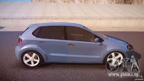 Volkswagen Polo 2011 für GTA 4 Seitenansicht