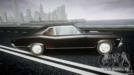Chevrolet Nova 1969 pour GTA 4 est une vue de l'intérieur