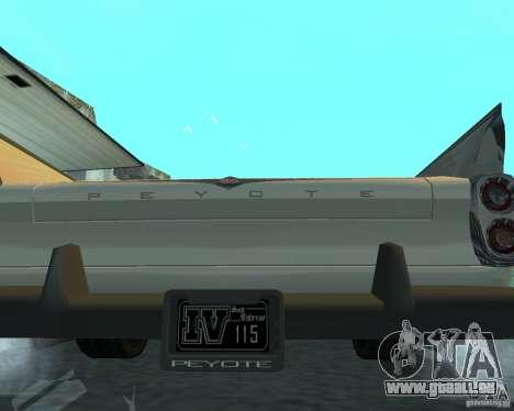 Peyote von GTA 4 für GTA San Andreas rechten Ansicht