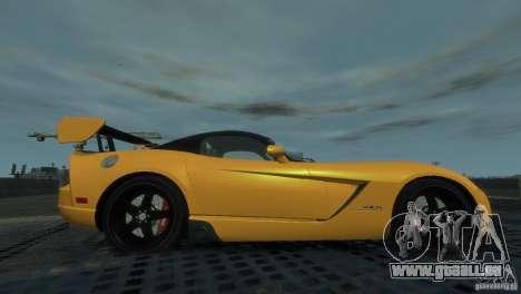 Dodge Viper SRT-10 ACR 2009 pour GTA 4 est une gauche
