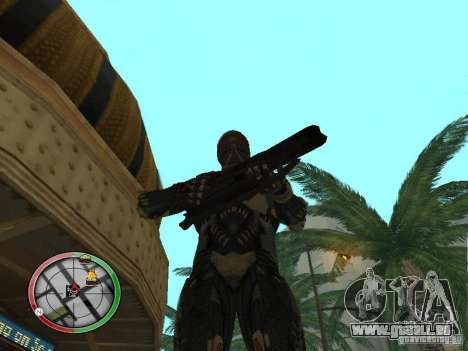 Alien Waffen von Crysis 2 für GTA San Andreas siebten Screenshot