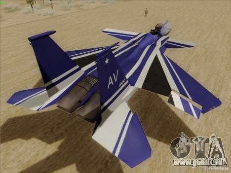 F-15 SMTD pour GTA San Andreas vue de droite