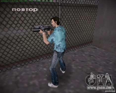 PP-19 Bizon für GTA Vice City dritte Screenshot