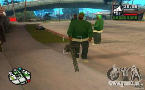 Neue Waffen von Banden für GTA San Andreas