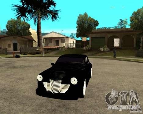 GAZ M20 (gagner) + tuning pour GTA San Andreas vue arrière