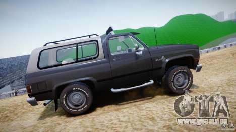 Chevrolet Blazer K5 Stock pour GTA 4 est une gauche