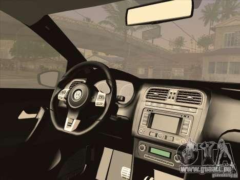 Volkswagen Polo GTI 2011 pour GTA San Andreas vue de droite