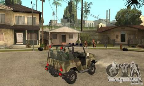 UAZ-3150 varmint für GTA San Andreas rechten Ansicht