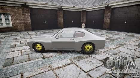 Ford Capri RS 1974 pour GTA 4 est une gauche